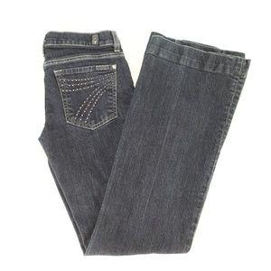 7 For All Mankind Womens Jeans Sz 28 Dojo Boot Cut